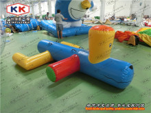 Factory cheap price water park toy inflatable water dog for water games