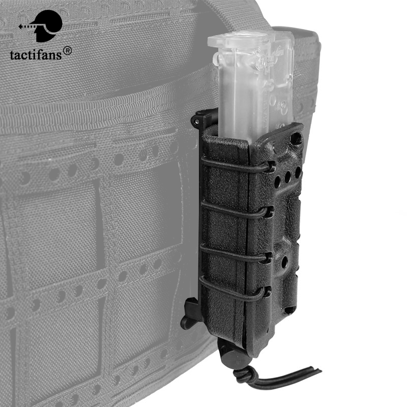 TACTIFANS Tactical 9mm Scorpion Magazine Pouch Pistol Fast MAG Military Ambidextrous Modular Quick Module MG25 Airsoft Hunting