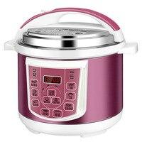 Panelas de Pressão elétricas duplo-bile e 4/5/6L cooke arroz inteligente fogão doméstico NOVO