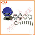 CRA 14psi Rendimiento-Azul 38 MM Wastegate Turbo Wastegate Externa Universal turbo válvula de descarga