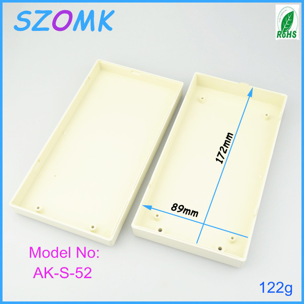 10 pieces a lot, szomk plastic box 177*94*35 mm electrical outlet enclosure, electrical cabinet abs plastic enclosure 6 pieces a lot ip55 electronic box plastic electrical cabinet abs plastic enclosure led power supply 133 90 45 mm