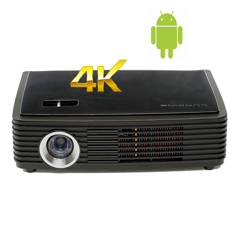1500lumens Portable Home Theater DLP 3D LED Android