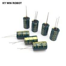 Condensador electrolítico de aluminio, 1000 uF, 50 V, 13*20mm, condensador electrolítico Radial frekuensi tinggi, 10 Uds.