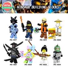NinjaGO Építőelemek Tégla játékok Kompatibilis legoINGly Gamma Sharkman Garmadon Master Wu NYA Gyermek Játékok zk30