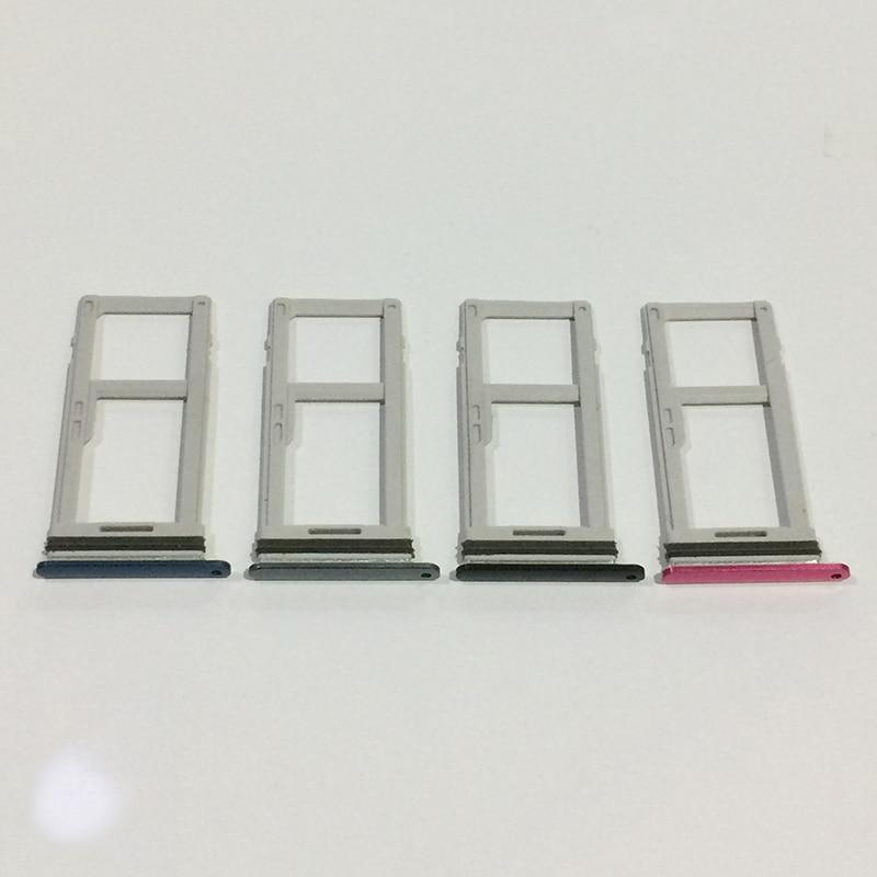 Купить 10 шт./лот Dual Sim карты лоток и памяти Micro SD Держатель для карт Слот для LG G7 ThinQ G710 смартфон Запчасти для авто на Алиэкспресс