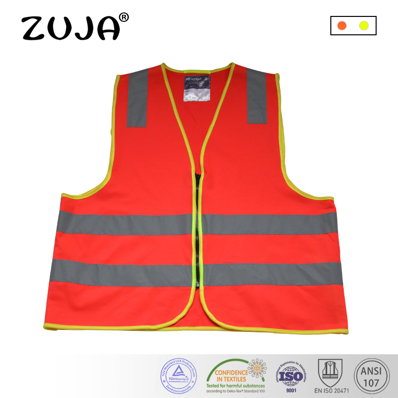 Reflective Vest High Visibility Safety Strap Cycling Jogging Running Adjustable Shapers Orange Green Black Purple Red High Quality Goods Shapers
