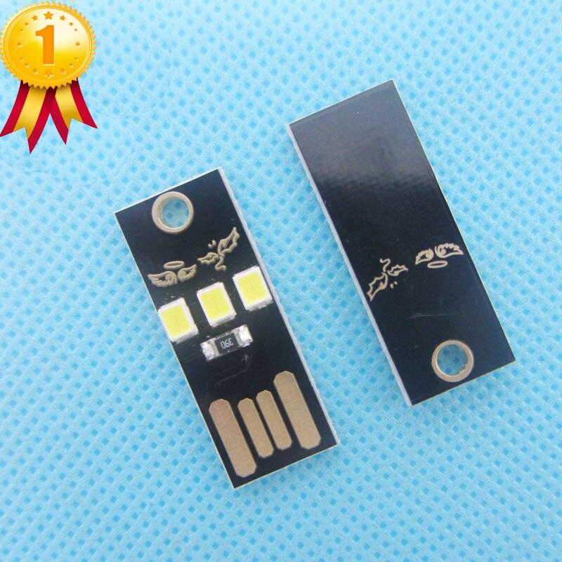 20pcs/lot Mini USB Light Camping Night Mobile USB LED Lamp