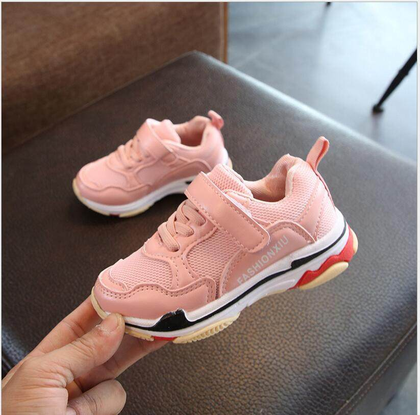 6 7 8 9 10 12 14 Years Spring And Autumn Children s Fashion Running Sports  Shoes 8eb82f58ce54