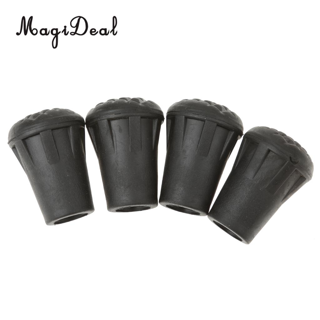 Replacement Pole Tip Walking Sticks Accessories Attachments Outdoor Rubber