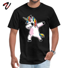 Dabbing Unicorn Shirt Tshirts Leisure Initial D Sleeve Fashion O-Neck Canada Fabric T Classic for Men Summer/Fall