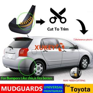 Image 4 - Garde boue universel garde boue garde boue garde boue pour Toyota Auris Avensis Aygo Camry CH R Corolla IQ pique nique RAV4 Yaris