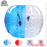 Most crazy sport inflatable bumper ball with pump,1.5m giant human bubble ball for adult