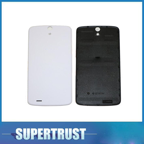 5 Inch For Philips Xenium V387 Battery Cover Housing Cases Back Door Rear Black White Color 1pc/Lot image
