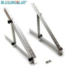 Suporte ajustável para montagem de telhado, de alumínio, triângulo de painel solar de 100w