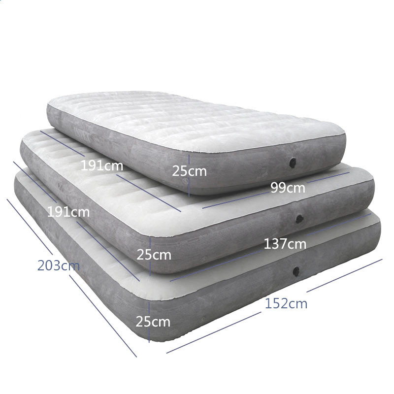 Inflatable Airbed Mattress Topper Folding Bed Beach Airbed Cama Bedroom Furniture Muebles De Dormitorio Free Shipping цена 2017