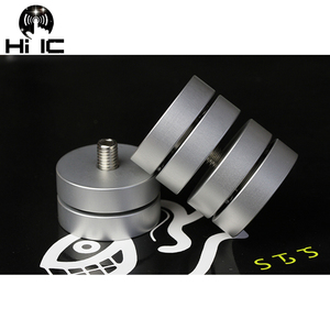 Image 2 - 4 PCS HIFI Audio Lautsprecher Verstärker Keramik perlen Stahl perlen Anti stoßdämpfer Fuß Pad Füße Basis Vibration Absorption stehen