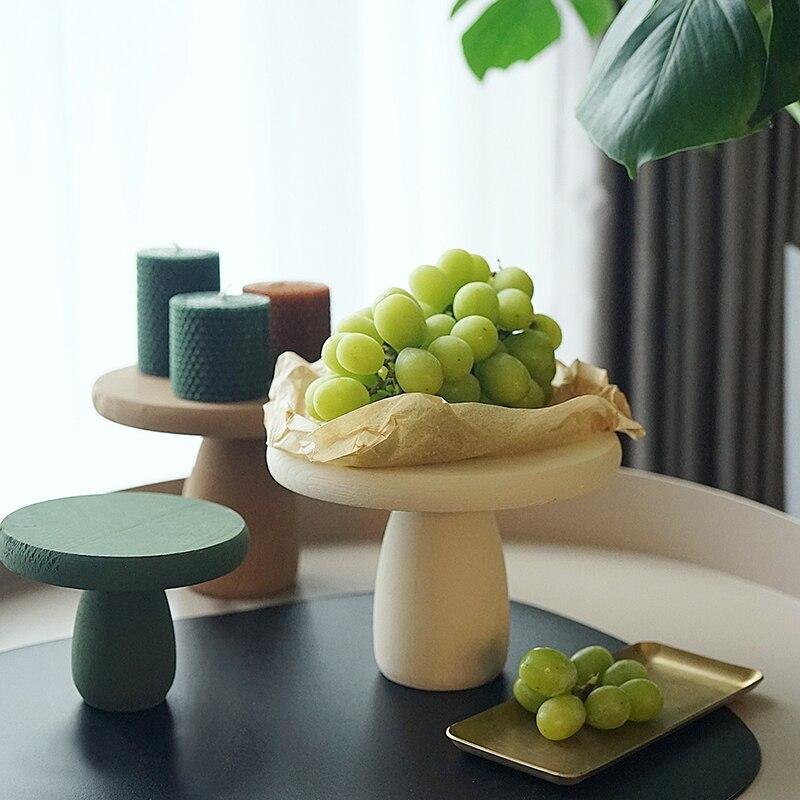 Morandi chandelier ton sur ton forme de champignon articles d'ameublement après-midi thé coeur affichage accessoires