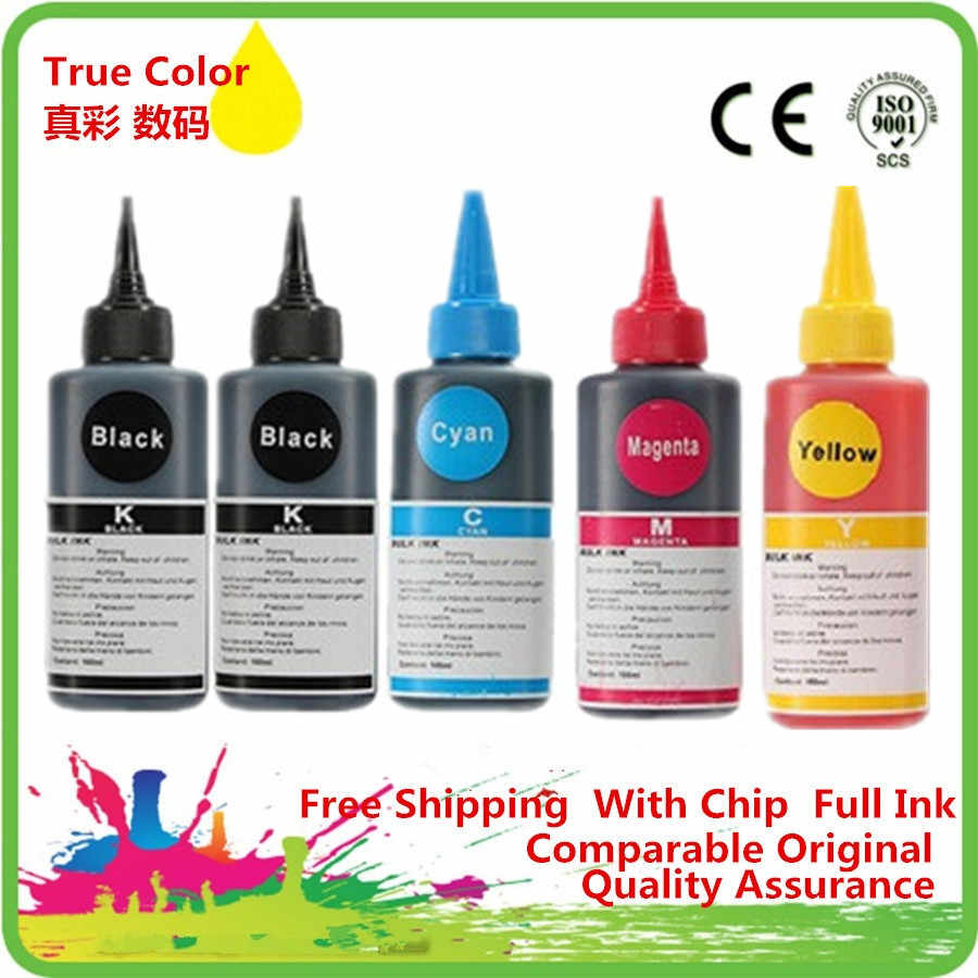 Isi Ulang Tinta Dye Kit PREMIUM UNTUK Canon PIXMA MG5470 MG6470 MX727 MX927 Ip7270 IX6770 MG5570 IX6870 PGI 550 551 Printer