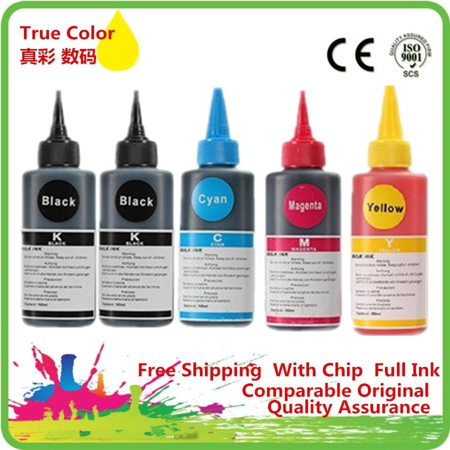 Refill Dye Ink Kit Premium For CANON PIXMA MG5470 MG6470 MX727 MX927 Ip7270 IX6770 MG5570 IX6870 PGI 550 551 Printer