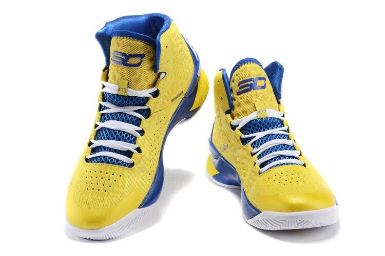 aliexpress comprar 2015 nueva stephen curry baloncesto hombre amarillo azul blanco negro zapatillas