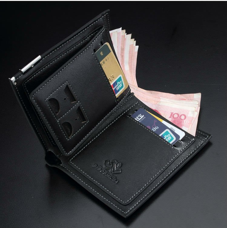 8d626c87036e hot sale wallets top layer leather wallet Brand name wallt genuine Leather  Wallet for men purses fashion clutch black man wallet-in Wallets from  Luggage ...