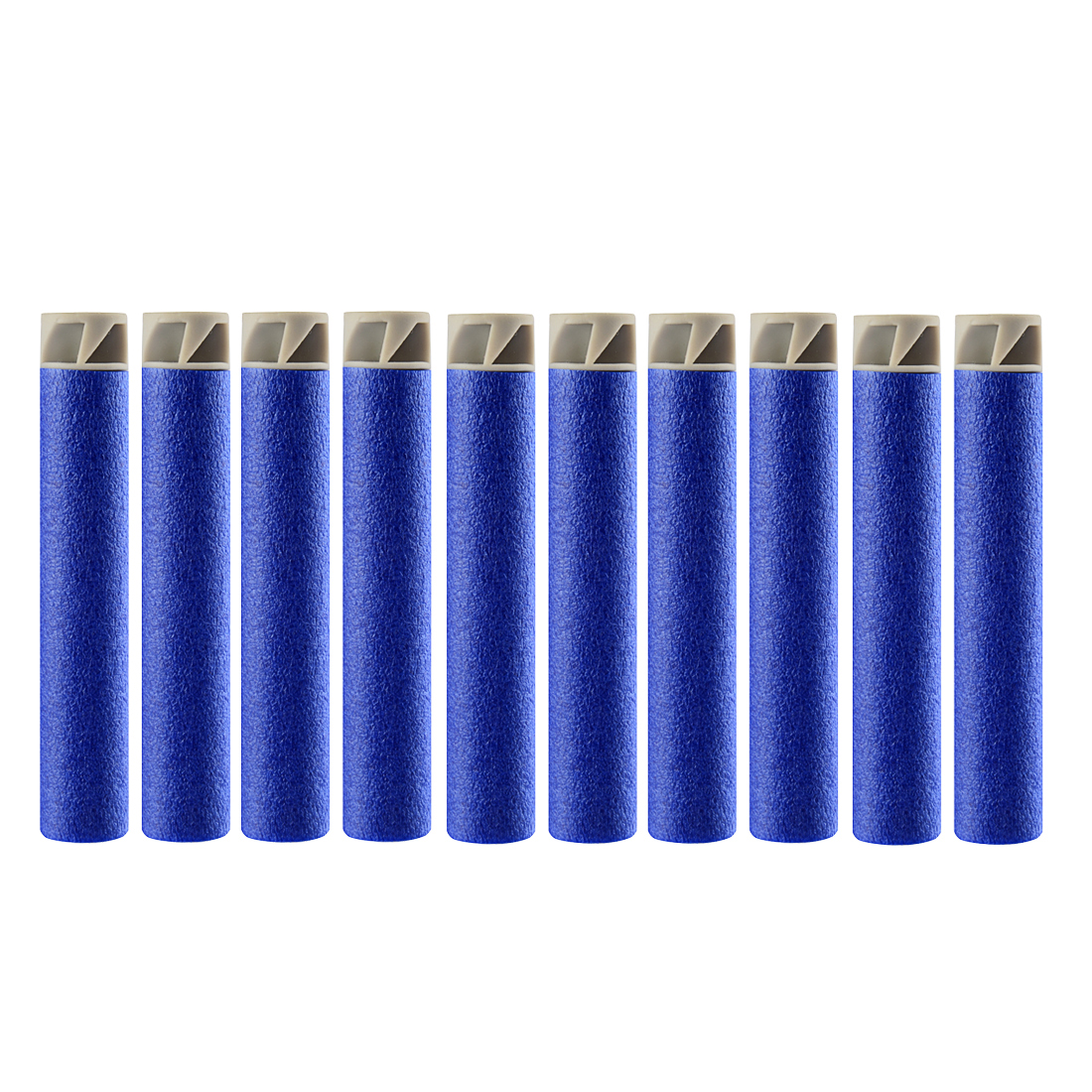 50/100 Pcs 7.4 Soft Bullet Airguns EVA Flat Soft Head Foam Bullets Darts For Nerf Blaster Toy N-Strike Elite Series Accessories