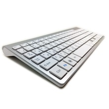 101 Keys Ultra Thin Russian font b Keyboard b font 2 4GHz Wireless Mute font b