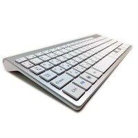 2 4G Ultra Slim Russian Keyboards Wireless Keyboard Scissors Feet Keyboard For Mac Windows XP 8
