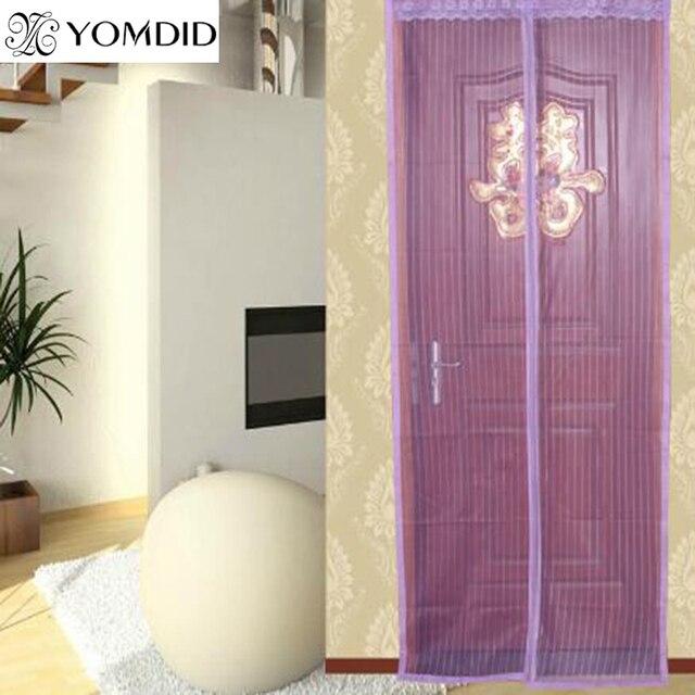 Automatische Schließen Tür Vorhang Anti mücken Magnetische Tüll ...