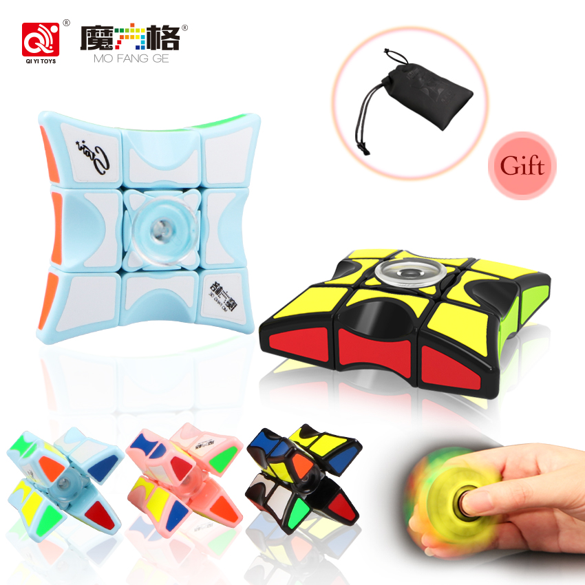 QIYI Mofangge 2018 New Speed 1x3x3 Magic Puzzle Rubic Cube Antistress Relief Stress Fidget Cube Toys Neo Fidget Puzzle Spinner 32pcs lot dhl free shipping high quality fidget toys edc hand spinner for autism and adhd anxiety stress relief toys