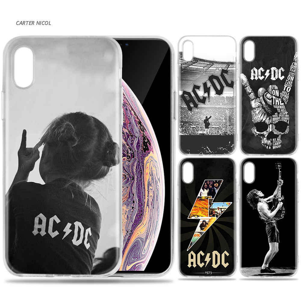 Silicone Case Shell Coque For Iphone 7 8 6 6s Plus X Xs Max