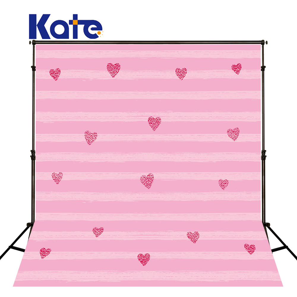 KATE 5x7ft Kids Background For Photography Pink Children Backdrops Stripe Backdrop Cartoon Newborn Backdrop for Photo Studio 5 x 7 ft pink love hearts print photo backdrop for wedding party portrait photography studio background s 1305