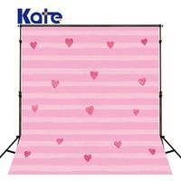 KATE 5x7ft Kids Background For Photography Pink Children Backdrops Stripe Backdrop Cartoon Newborn Backdrop for Photo Studio