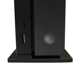 Image 4 - Suporte vertical de apoio para xbox onex, base preta para montagem de dock com 1 peça