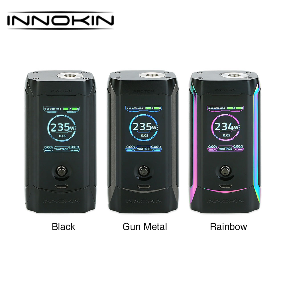 Original Innokin Proton Express TC Box MOD with New 235W Chipset TFT Color Display Joystick style