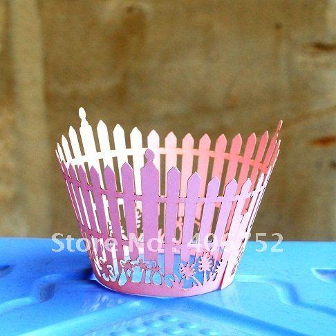 "2012 hot sale! amazing ""garden"" cupcake wrapper 300pcs/lot free logo fast shipment"
