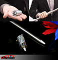 Hot Sale New Arrival Appearing Cane Metal Silver Magic Trick Close Up And Pop out Tool