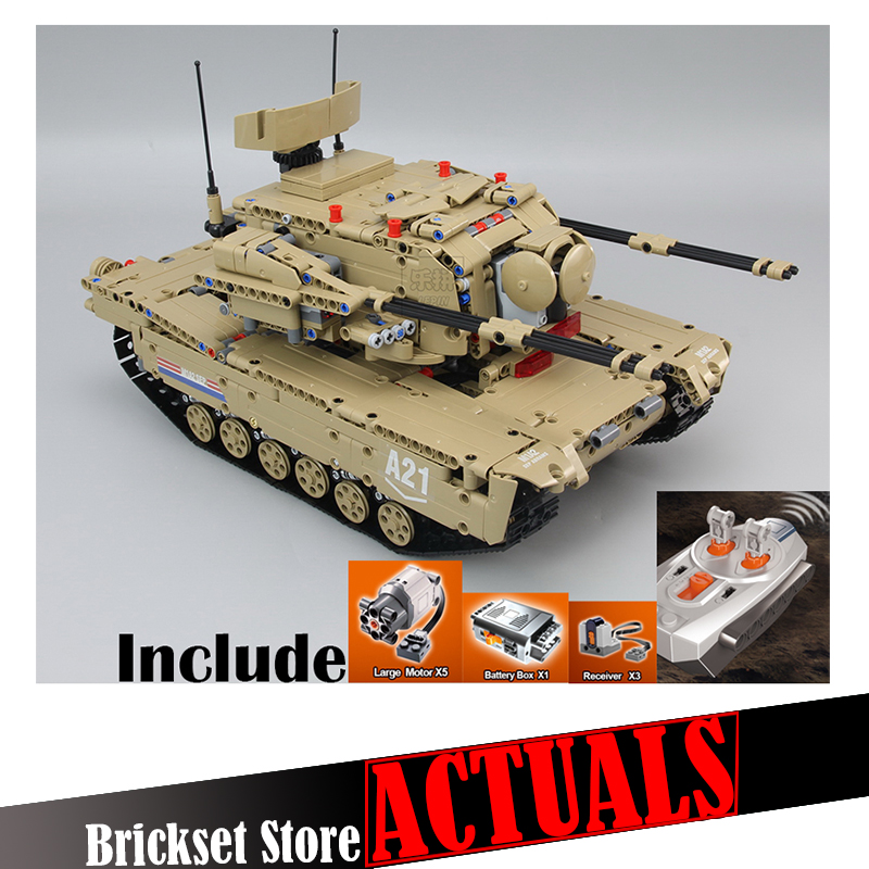 LEPIN Military RC Tank 20070 1572pcs SWAT Army Building kits Blocks Bricks DIY toys for children Compatible withINGly set mylb large panzer iv tank 1193pcs building blocks military army constructor set educational toys for children dropshipping