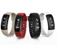 Новый Smart Браслет A69 Smart пульсометр измерять кровяное давление смарт-браслет Фитнес браслет вызова SMS часы PK Mi band 2