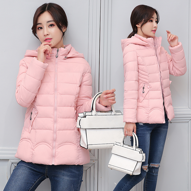 2018 Top Brand New Parkas Female Women Winter Coat Thickening Cotton Jacket Outwear Fashion Normal Casual Coat