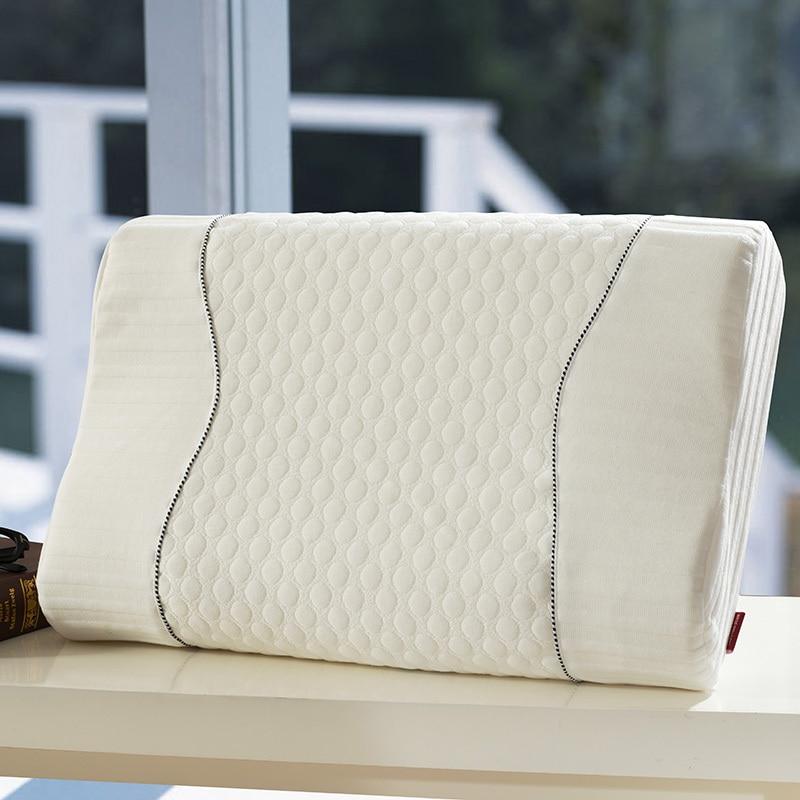 Hoogwaardige Contourmassage Natuurlijk Latexkussen voor Volwassene - Thuis textiel