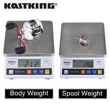 KastKing Whitemax baitcasting reel 12 ball bearings carp fishing gear 8KG Max Drag Power bait casting fishing reel
