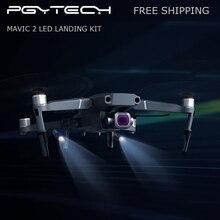PGYTECH Mavic 2 LED الهبوط التمديد الساقين حامل الموسعة هياكل عظمية كشافات مجموعة ل DJI Mavic 2 برو/التكبير حامي