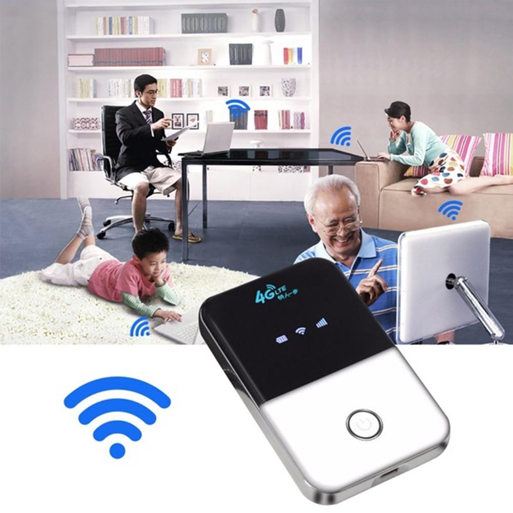 Routeur Portable sans fil routeur WIFI mini routeur 3G 4G Lte poche Wi-fi téléphone Portable Hotspot voiture routeur Wi-fi avec fente pour carte Sim
