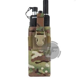 Image 2 - Emerson Tactical MOLLE MBITR PRC148 152 Radio Pouch EmersonGear Walkie Talkie Pocket w/Release Gesp voor Bevestigen RRV Vest