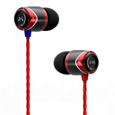 2016 nueva soundmagic e10 auriculares de aislamiento de ruido en la oreja los auriculares