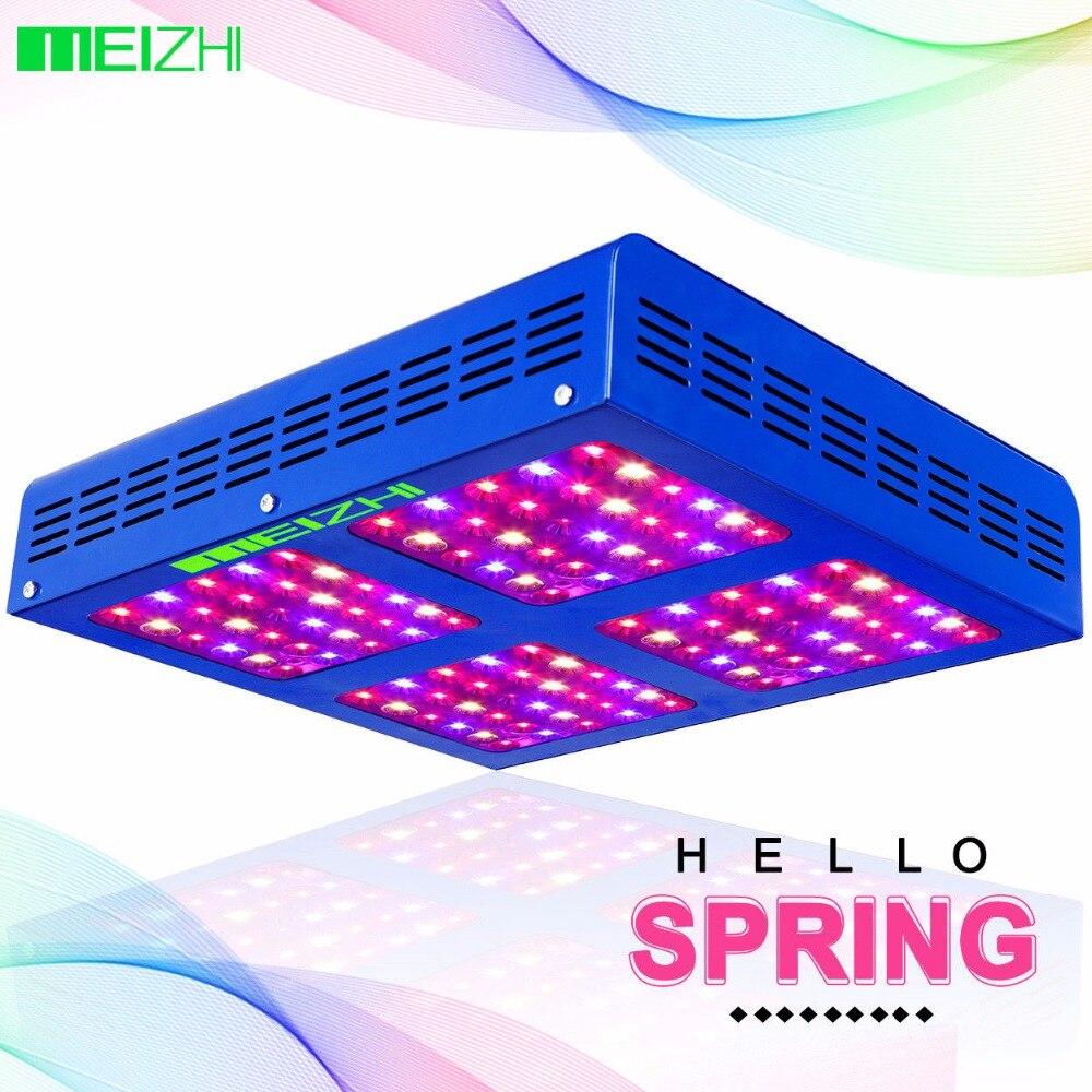 MEIZHI Reflector 600W LED Grow Light Full Spectrum Veg Bloom Hydroponics LED for Plants led grow light lamp for plants agriculture aquarium garden horticulture and hydroponics grow bloom 120w 85 265v high power