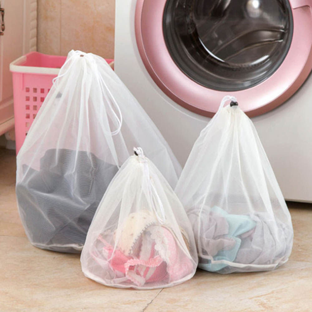 Drawstring Underwear Products Laundry Bags Baskets Mesh Bag Household Cleaning Tools Accessories Laundry Wash Care