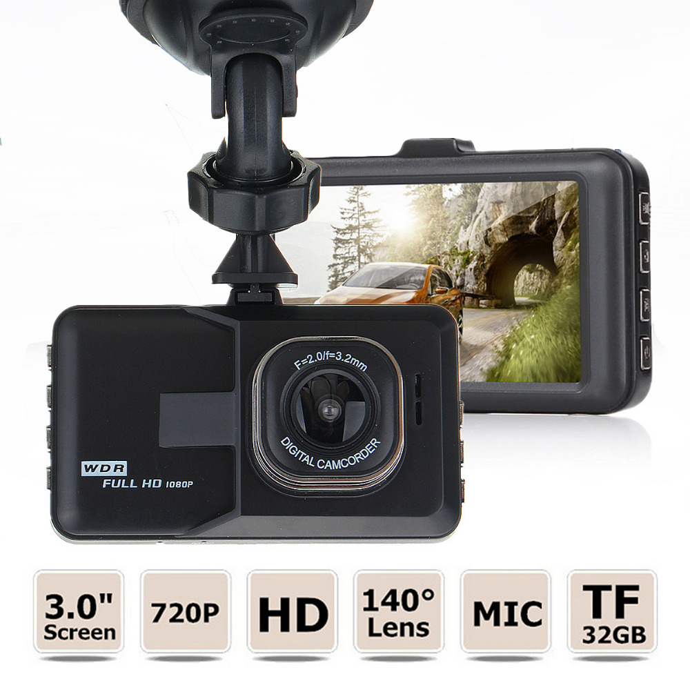 Novatek 2.7 Inch 1080P Car DVR Camera Camcorder WDR Parking Video Recorder Registrator DashCam Vehicle Camera Black Box DVRs