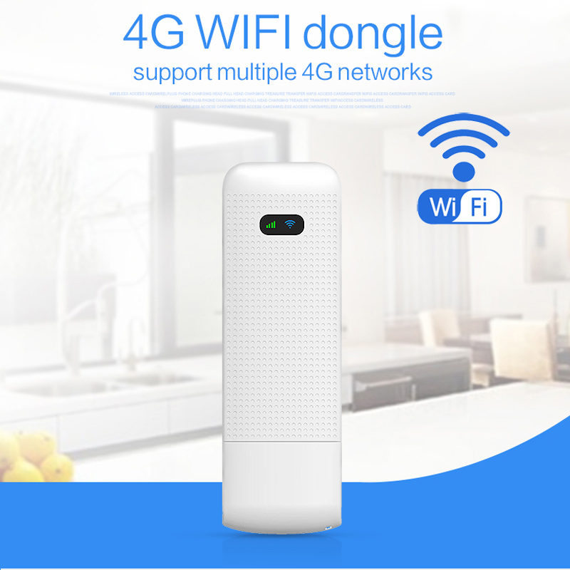 Unlock 4G USB Modem Stick 100Mbps 4G Wifi Router 3G Wireless Mobile Wifi Hotspot With SIM Card Slot Support Up To 10 Wifi Device